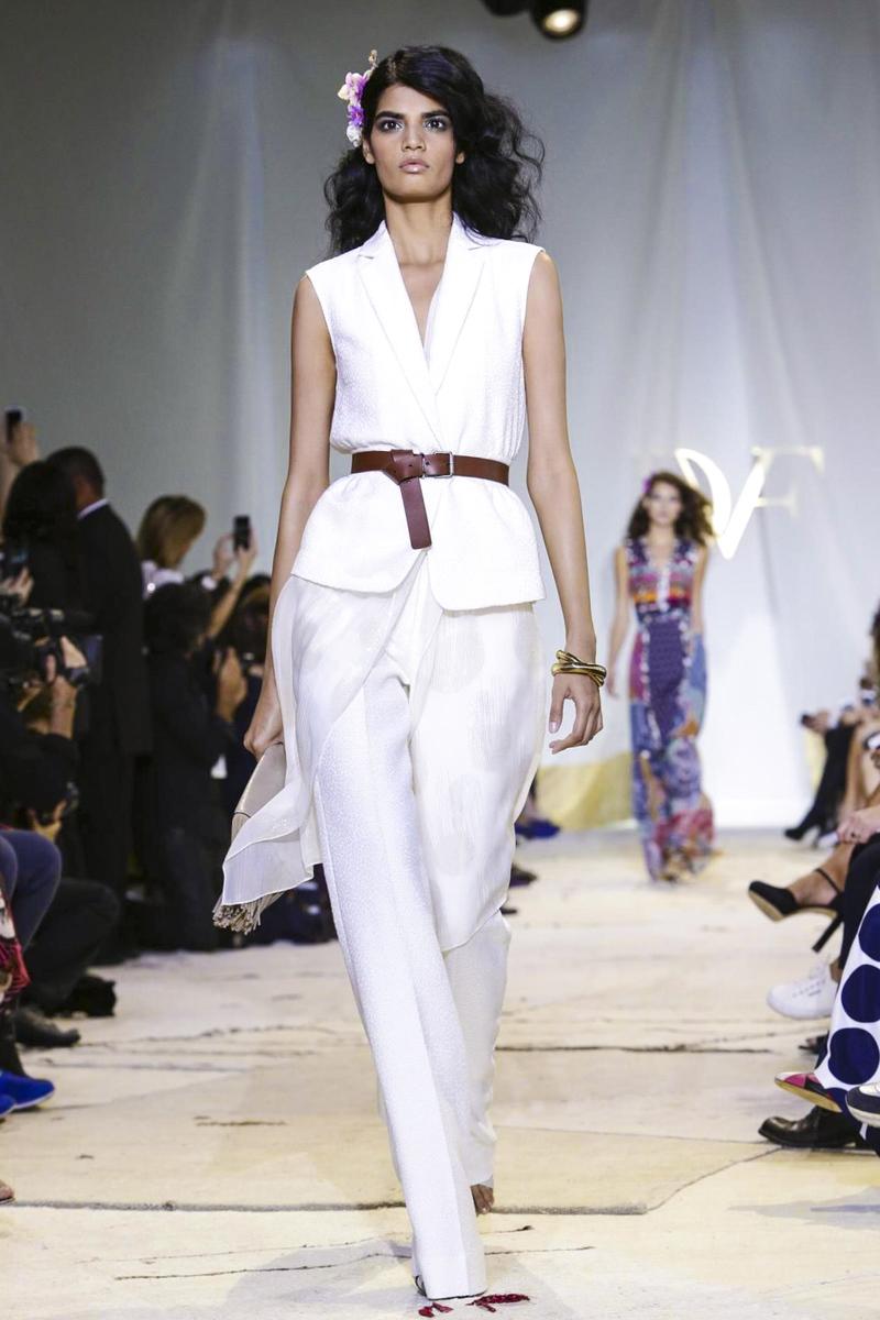 Diane von Furstenberg Fashion Show Ready to Wear Collection Spring Summer 2016 in New York